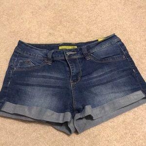 YMI shorts high waisted stretch